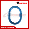 G100 / Grade 100 Enlarged Drop Forged Master Link for Wire Rope Lifting Slings