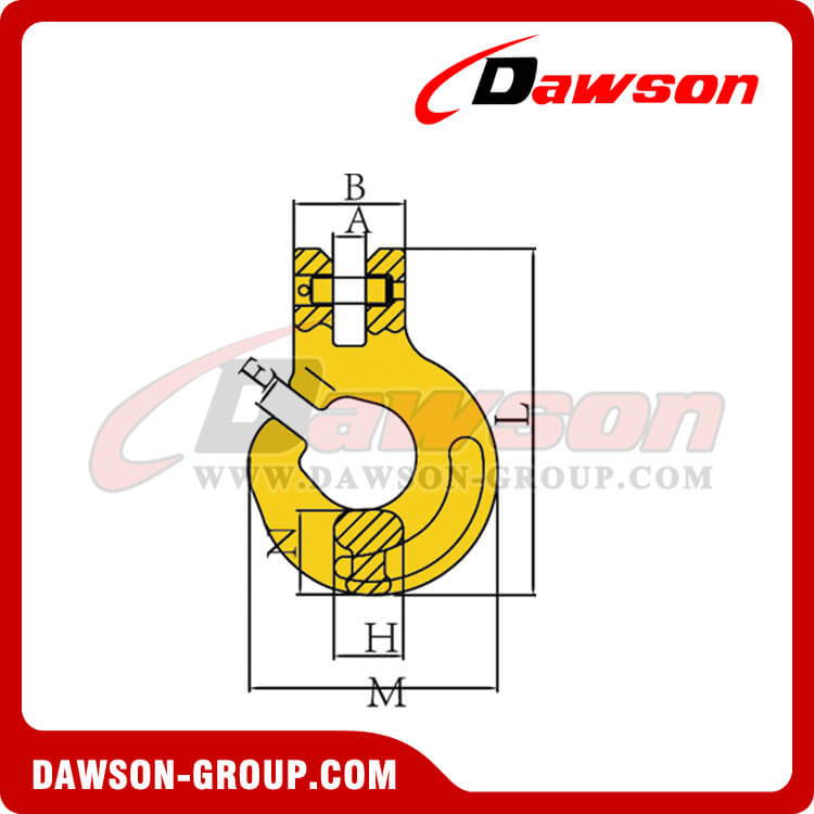 DS102 CLEVIS FOREST HOOK - DAWSON GROUP LTD. - CHINA MANUFACTURER, SUPPLIER