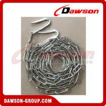 Welded Chain Chrome Or Nickel Plated Animal Chain