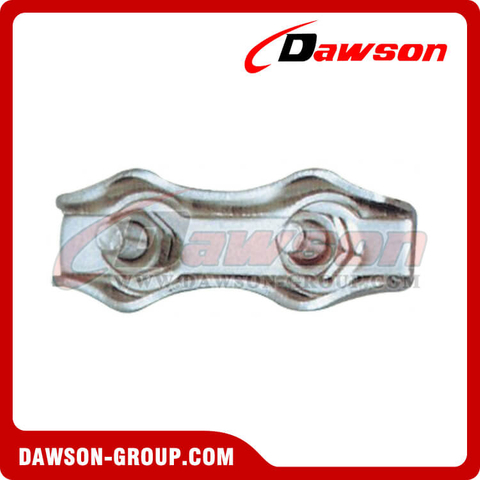 Stainless Steel Duplex Wire Rope Clips