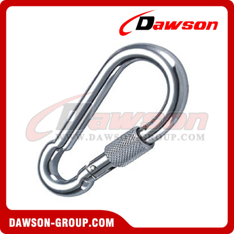 Snap Hook DIN5299D with Screw Zinc Plated