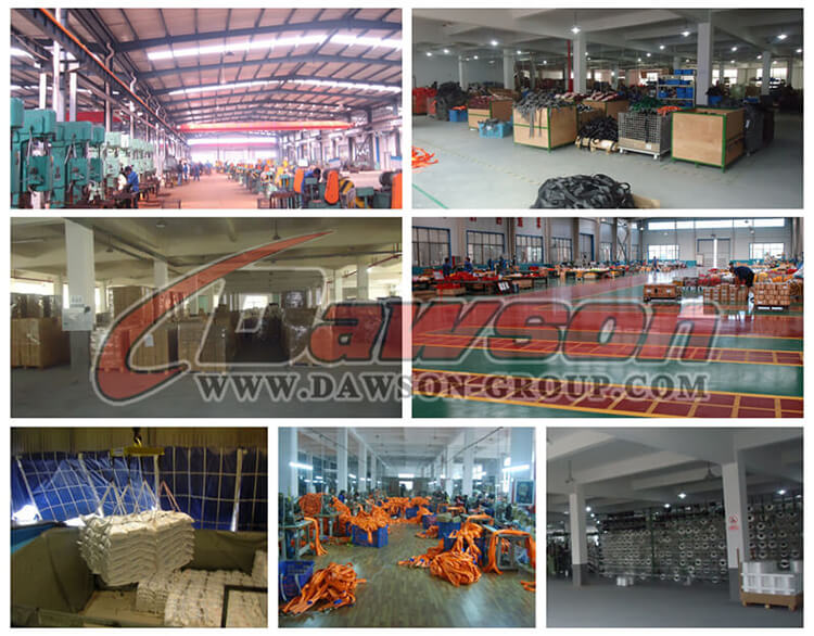 Factory of European Type Commercial Galv. Dee Shackle - Dawson Group Ltd. - China Manufacturer, Supplier, Factory