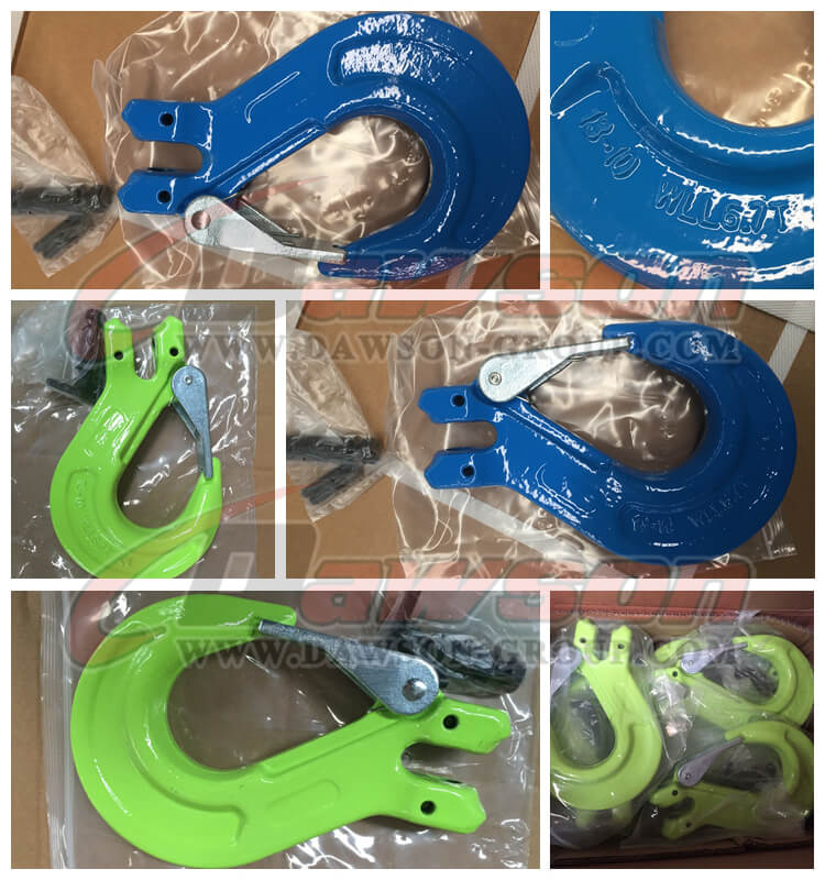 DS1004 G100 Clevis Sling Hook with Latch - Dawson Group Ltd. - China Manufacturer, Supplier, Factory