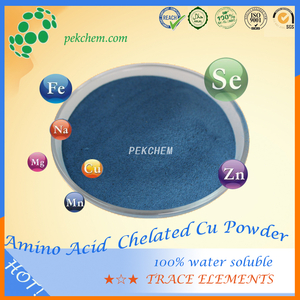 Amino acid chelated Cu nutrient