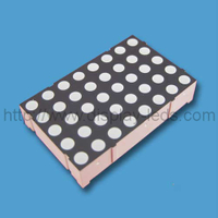 1.4 inch 5x8 LED bi color LED dot matrix