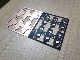 1L copper base PCB of automobile led lamp with 3W OSP PCB