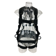 ANSI Approved Polyester Webbing Fire Resistant Full Body Safety Harness Comfortable Fire Resistant Harness