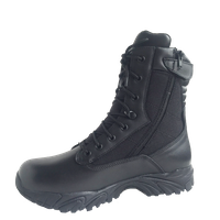 high class genuine leather police tactical boot