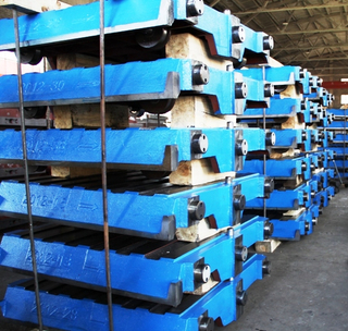 Pallet Cars used for green sand casting process