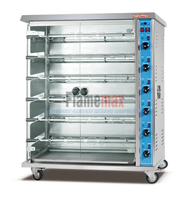 HGJ-9P (9-Rod) Rotisserie Chicken Gas Oven/Chicken Rotisserie for Sale/Rotisserie