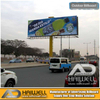 High Quality Outdoor Unipole Advertising Billboard Display 18m X 6m