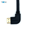 HDMI Male to HDMI Male Angled 90 degree Cable