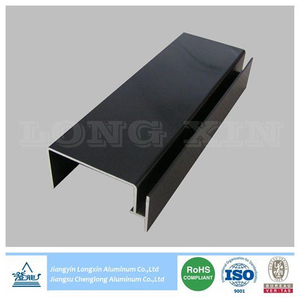 Black Anodizing Aluminium Profile for Industrial