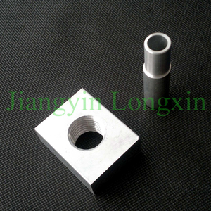 Machined Aluminum Profile for Connection