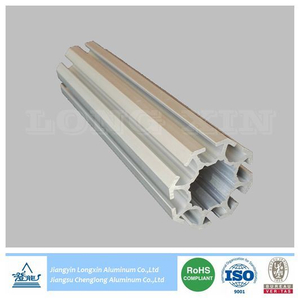 Anodized Aluminium Extrusion for Exhibition
