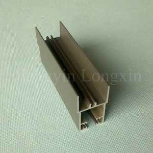Grey Coated Aluminium Profile for Windows