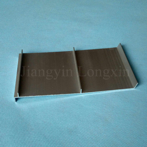 Brown Anodized Aluminium Profile for Construction