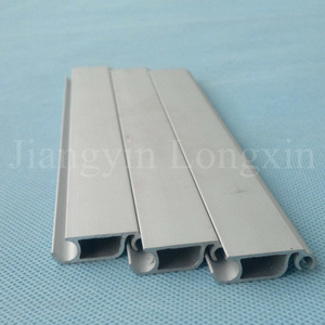 Sliver Matt Anodized Aluminium Profile for Rolling Shutter