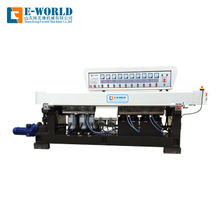 45 angle glass straight edging and polishing machine