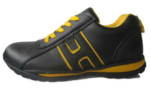 rubber outsole action leather safety shoes