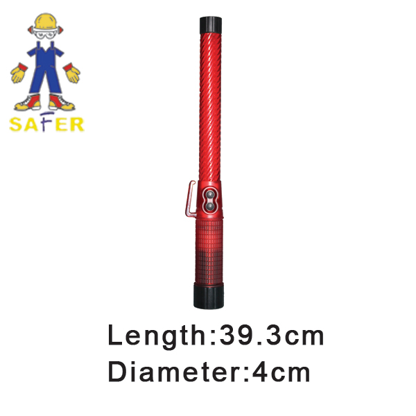 police traffic baton and traffic baton light