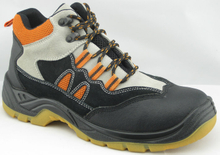HA1004T suede leather working safety shoes