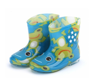 666-5 new fashion kids rain boots supplier
