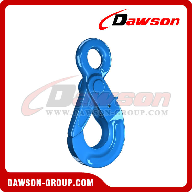G100 European Type Eye Self-Locking Hook, Forged Steel Hook for G100 Chains - China Manufacturer