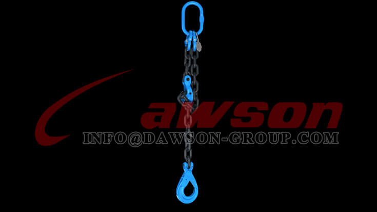 Application of G100 Forged Alloy Steel Clevis Chain Clutch with Safety Pin for Adjust Chain Length - Dawson Group Ltd. - China Manufacturer
