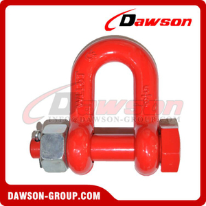 DS757 G8 Bolt Type Alloy Dee Shackle for Lifting
