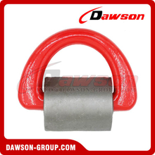 DS310 Forged Alloy Steel D Ring with Wrap for Lashing Chain