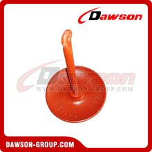 By Discount Painted Mushroom Anchor for Buoy / PE Plastic Coated Casting Mushroom Anchor