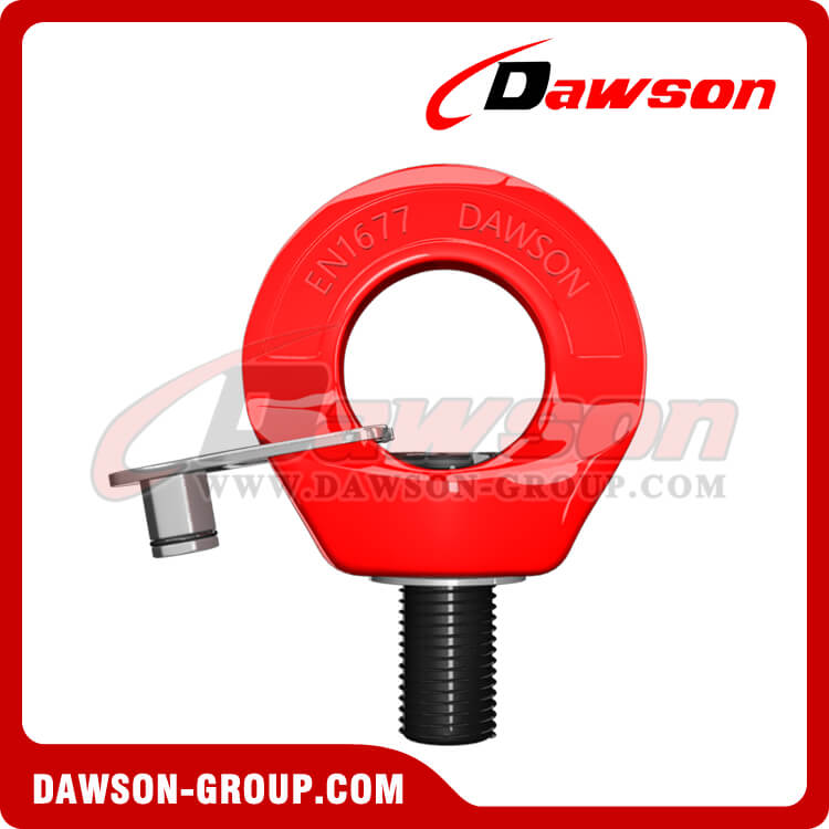 Grade 80 Eye Type Rotating Ring, G80 Swivel Hoist Ring, Lifting Points - China Supplier, Factory