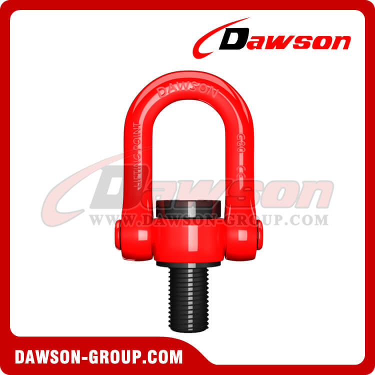 G80 Metric Thread Swivel Hoist Ring, Grade 80 Swivel Lifting Point - China Factory