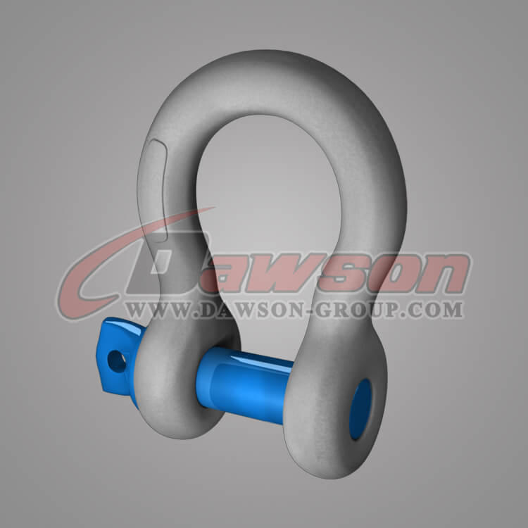 Dawson Brand Hot Dip Galvanized US Type Bow Shackle with Screw Pin - China Manufacturer Factory
