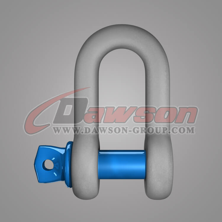Dawson Brand Hot Dip Galvanized US Type Chain Shackle with Screw Pin - China Factory, Supplier