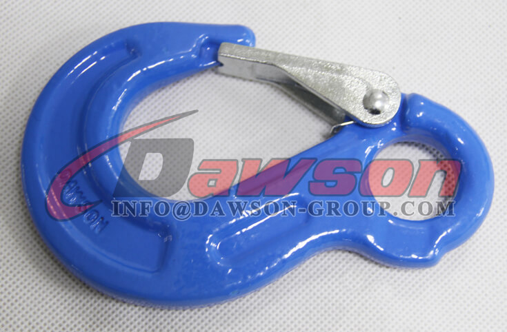 Grade 100 Eye Sling Hook with Latch for Chain Slings - Dawson Group Ltd. - China Factory