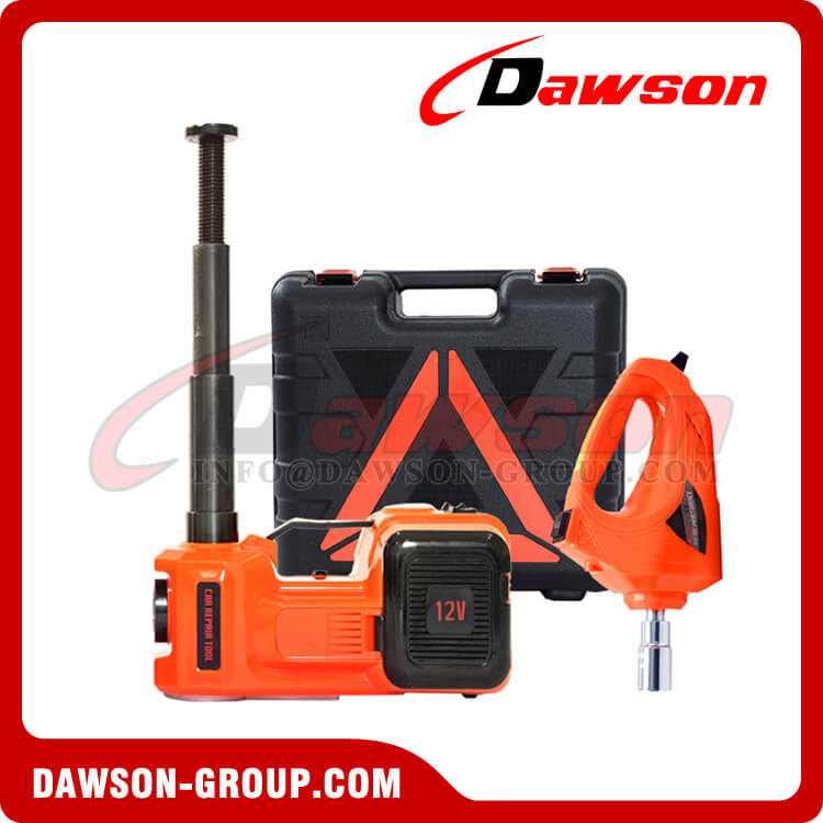 12V DC 5T MULTI-FUNCTIONAL ELECTRIC HYDRAULIC FLOOR JACK WITH ELECTRIC IMPACT WRENCH - DAWSON GROUP LTD. - CHINA MANUFACTURER, SUPPLIER