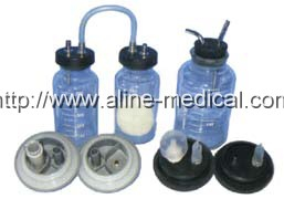 bottle of the Abortion Suction Unit/ bottle of the Pedal Suction Apparatus