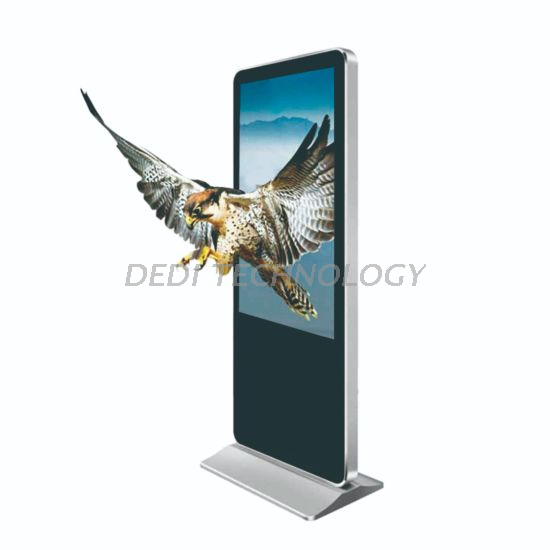 Dedi 3D Floor Standing Screen for Digital Signage