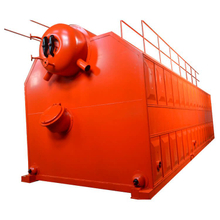 Vertical Double Drums Chain Grate Coal Fired Hot Water Boiler