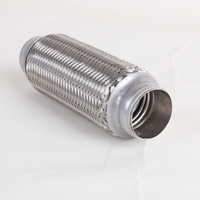Universal 4 inch corrugated flexible diesel exhaust pipe