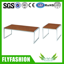 Wholesale wood table furniture teak wood tea table design(OF-59)
