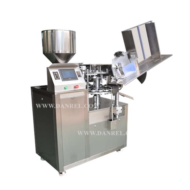Semi-Automatic Aluminum Tube Filling And Sealing Machine