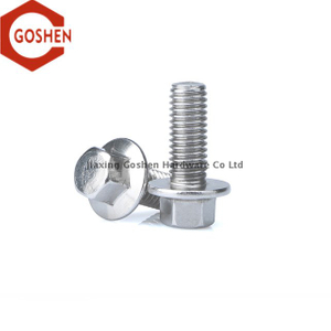 ISO 4162 M12 X 1.25 National Stainless Steel Flange Bolt Metric