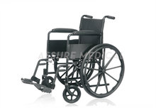 YJ-K101-1 Steel Manual Wheelchair