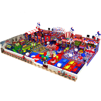 Customized Kids Soft Indoor Playground with Toy Brick