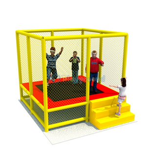 Entertainment Equipment Small Trampoline Park for Children