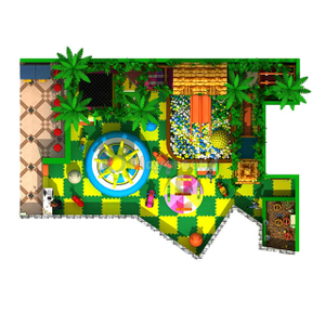Custom Jungle Theme Indoor Playground Children Amusement Park