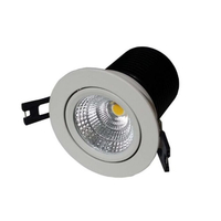 COB LED Downlight Kit (Gimbal) 13W 70mm Cutout